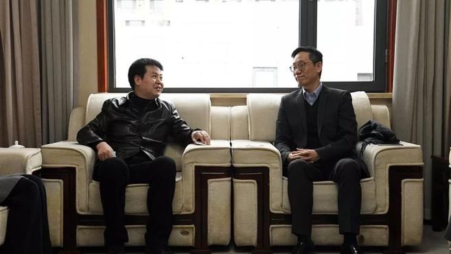 王斌会见东亚银行和民生电商客人