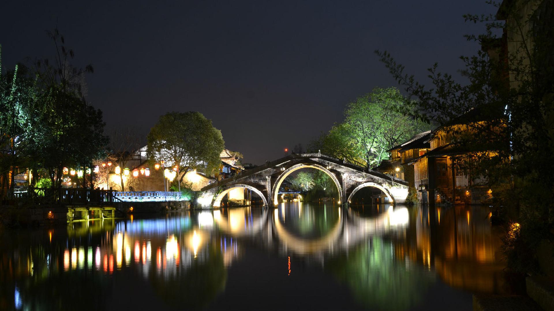 江南乌镇印象,高清壁纸,图片,时光记忆