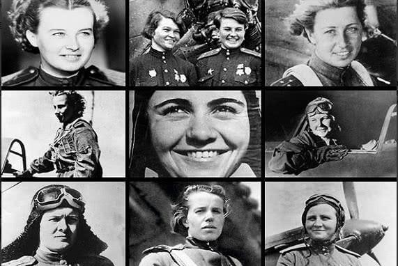 最令德国人恐惧的飞行员全是姑娘:开木头飞机丢炸弹,牺牲一半