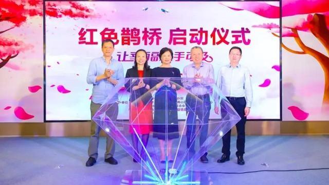 """珍爱网联合党群部门启动""""红色鹊桥"""",共建幸福事业"""