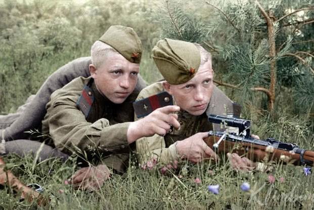 俄罗斯人不是崇尚肉搏吗?为何二战拥有最多的狙击手打冷枪?