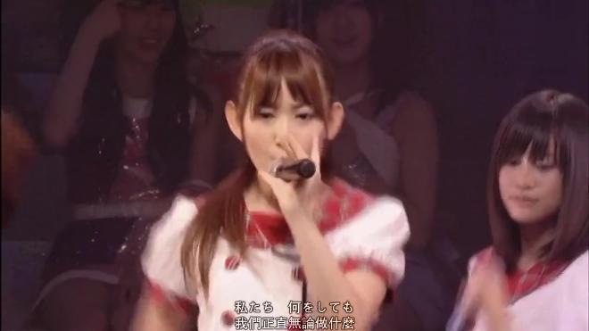 AKB48演唱《裙摆飘飘》,永远的神七,前田敦子渡边麻友都还在
