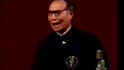 """陈仁义演唱的秦腔《斩黄袍》选段:""""王不敢哭来不敢嚎""""!"""