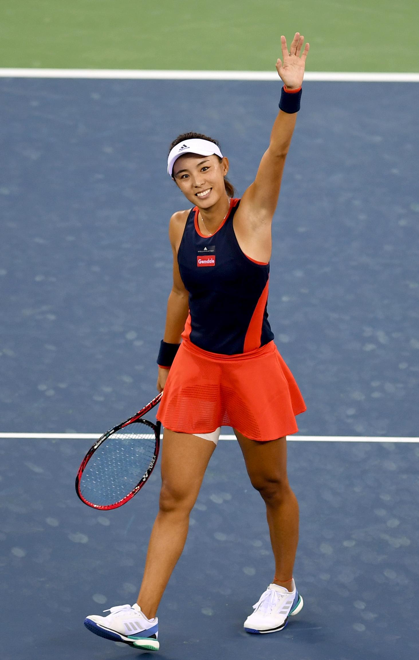 美国网球公开赛王蔷