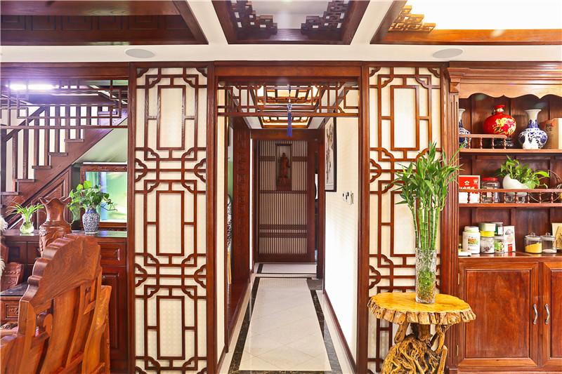 我家装修的280平米中式风格,全包花了50万元,值不值?