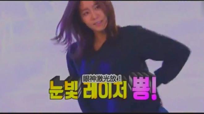 《韩国跑男》:刘在石要金宥真跳支舞,她把衣服塞进牛仔裤里开跳