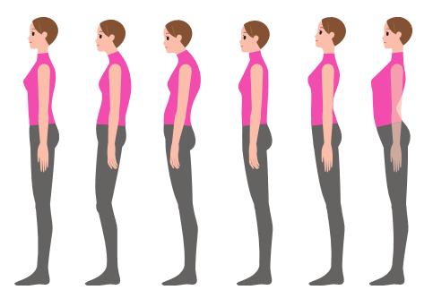 含胸驼背气质差?5招教你纠正不良体态 | 藏文科普