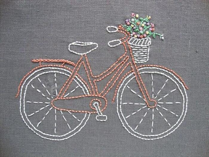 手工刺绣:精美的刺绣图案,太漂亮了,简直不舍得拿出来