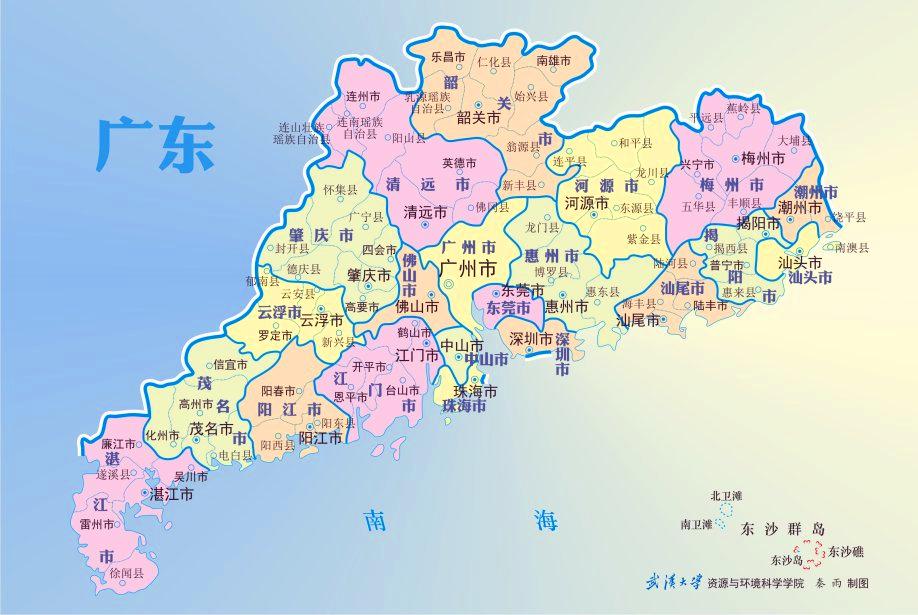 广东这个县历史悠久且曾为州,是广东最古老的四个县之一