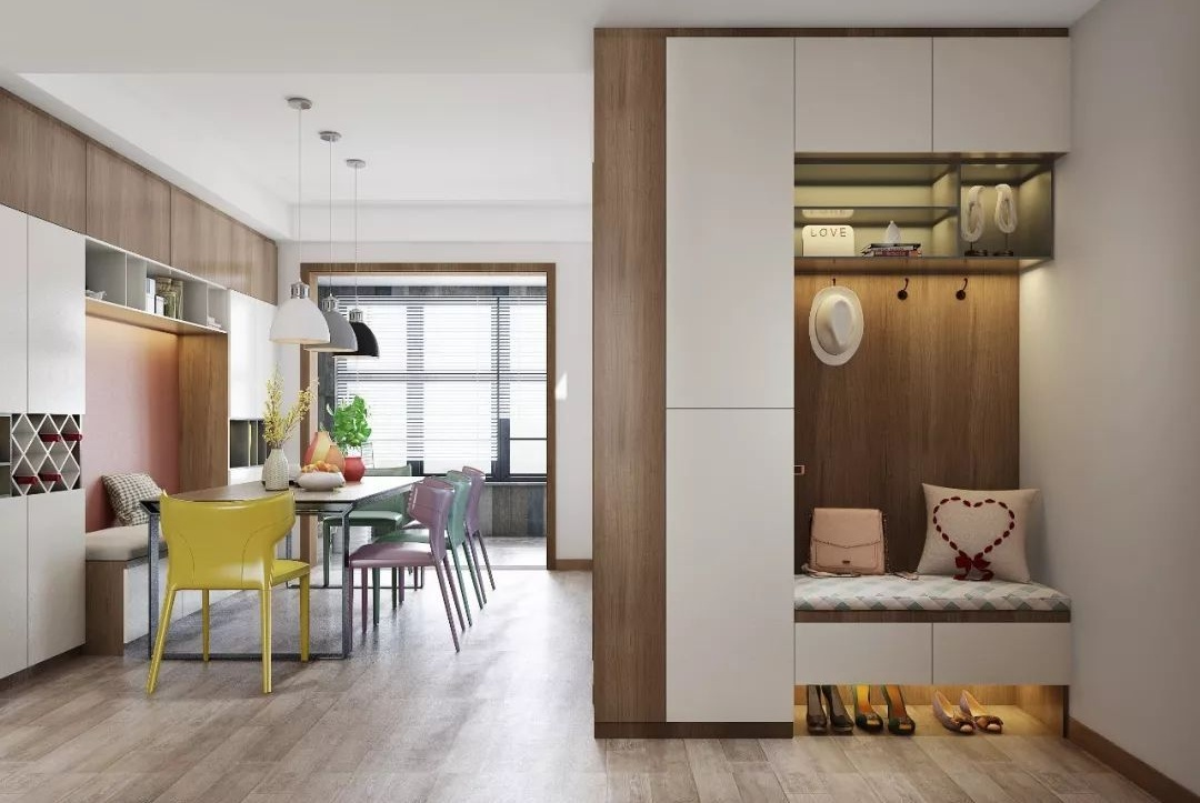 117㎡现代简约四居室,满足全家人对新房的期待