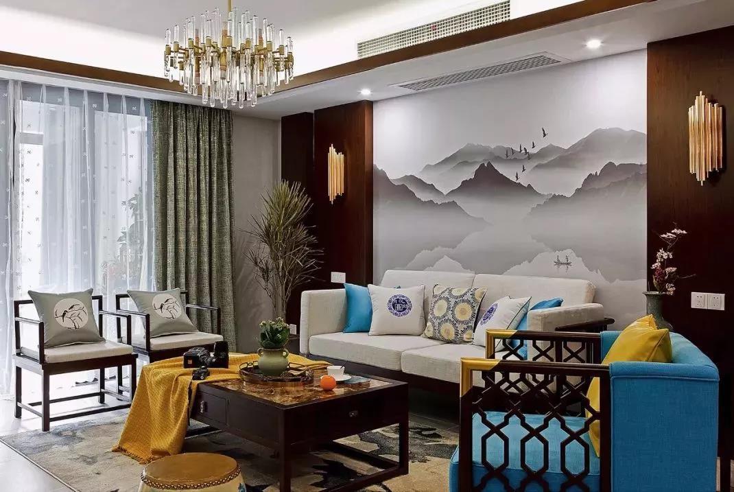 2019沙发背景墙流行这么装,设计师排队点赞!太漂亮了!晒晒经验