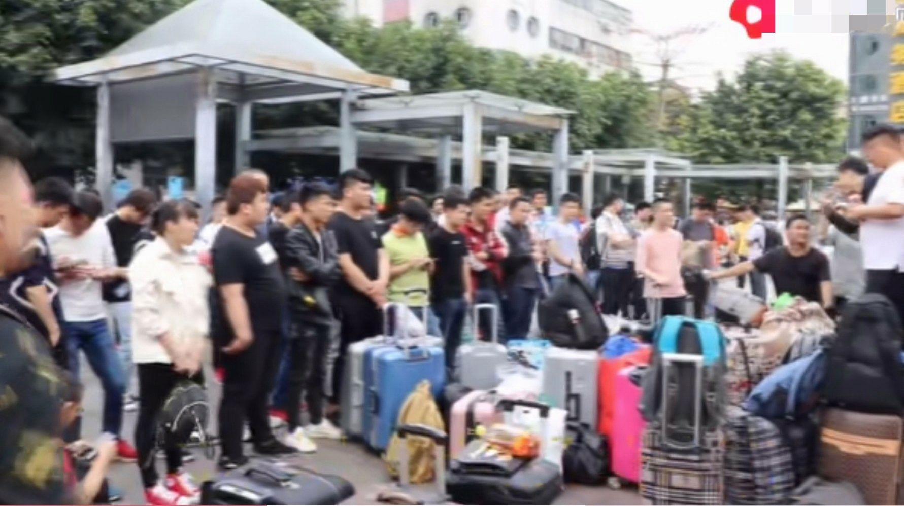 广州中介招上百人往江西送,中介:广州工厂给的工价没有江西的高