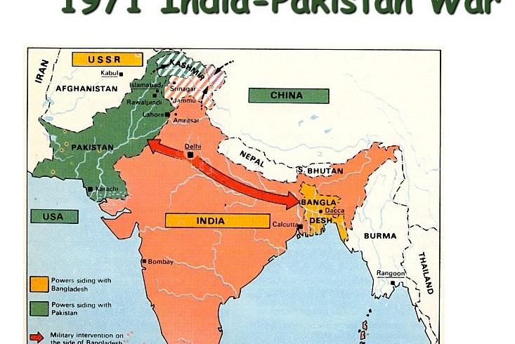 第三次印巴战争:9万巴军投降,印度成功肢解巴基斯坦