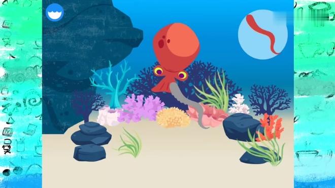 海底小纵队章鱼堡的由来海洋生物亲子早教自然科学开拓眼界动画