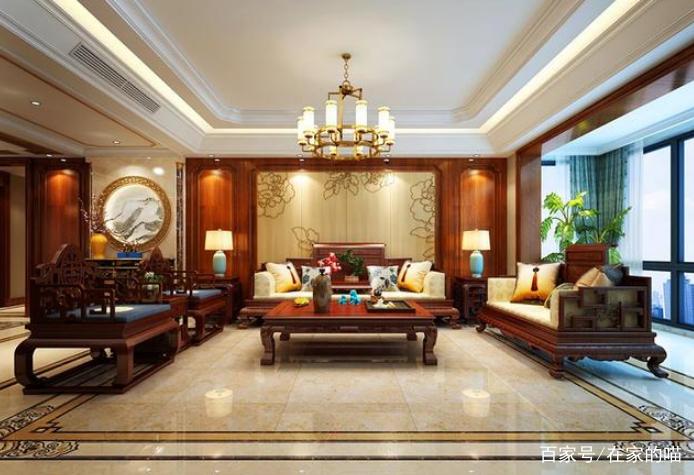 古典奢华的新中式风格,满满的中国风图片