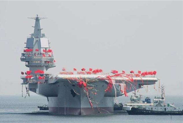 002号透露最新进展,有望4月份服役?外媒:中国造舰速度领先全球