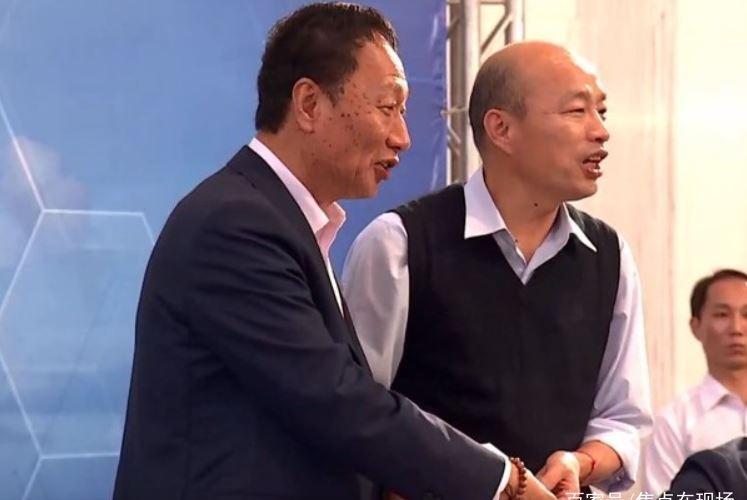 制造巨人郭台铭与人气天王韩国瑜会晤,为高雄腾飞再添大手笔