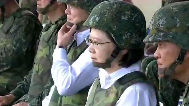 大祸临头?美再次叫嚣派军舰通过台湾海峡 台当局却不敢嘚瑟了