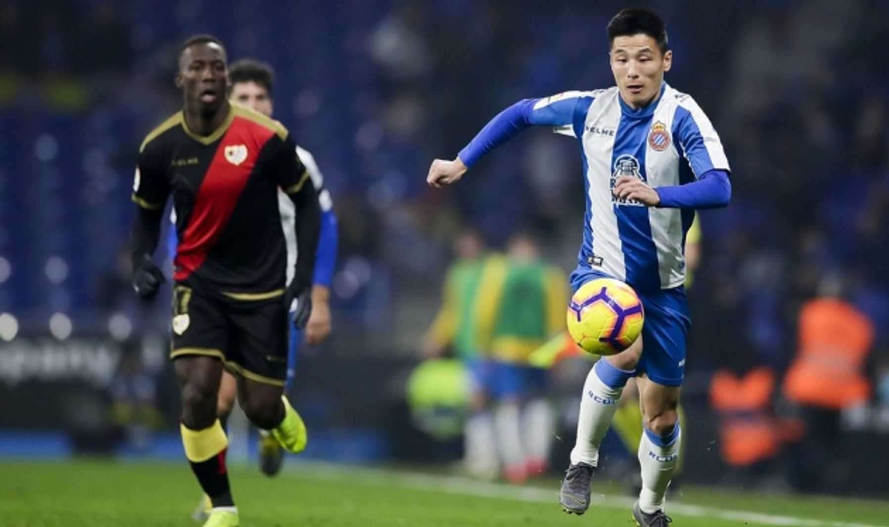 西甲赛事提醒:西班牙人对阵瓦伦西亚,武磊万事俱备 只
