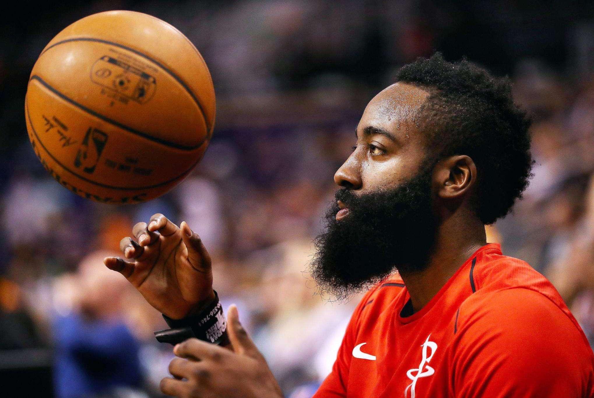 NBA连续罚球场次排名:哈登第8,奥尼尔第4,霍华德第2,谁第1?