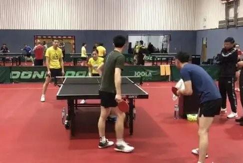 世界冠军陪练,国乒奥地利备战,刘国梁亲上阵!
