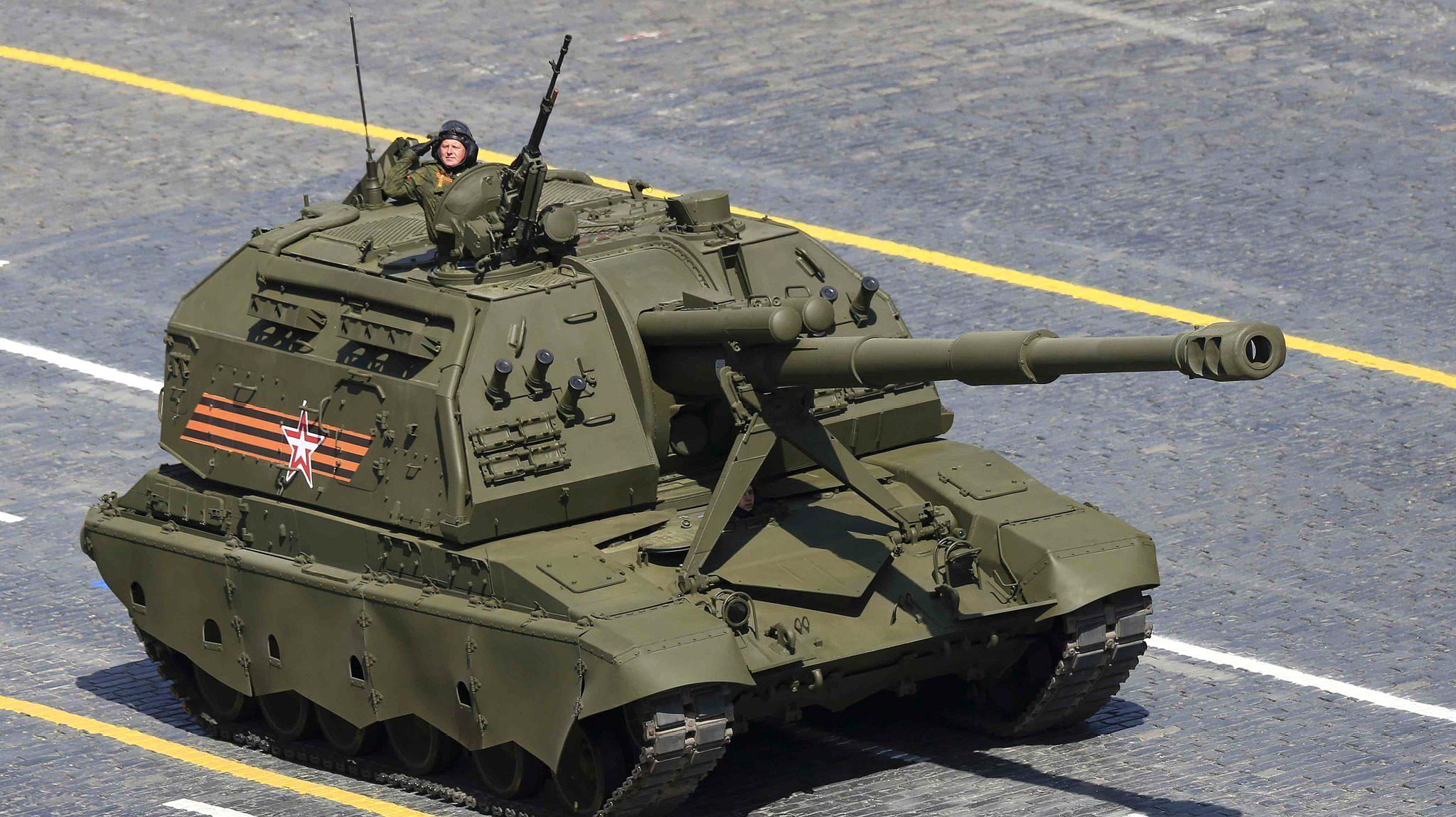 坦克能打直升机?俄高官透露正在研制新型坦克炮射导弹