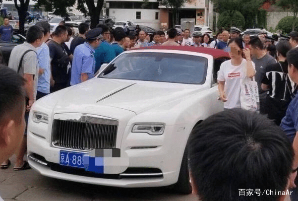 北京劳斯莱斯女司机背后身份曝光 京A88号牌神秘主人 ar娱乐_打造AR产业周边娱乐信息项目 第2张