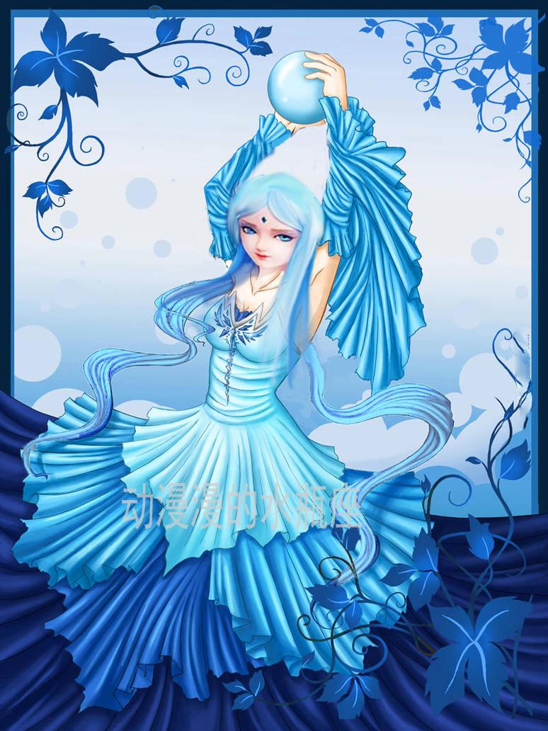 叶罗丽:公主穿上四季公主裙,冰公主是冬季女神,王默是图片