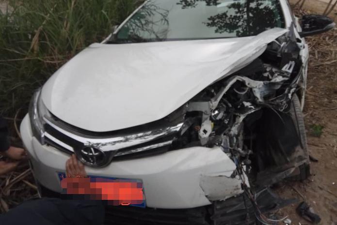 丰田卡罗拉发生严重事故安全气囊未弹出 网友:这下真的很尴尬!