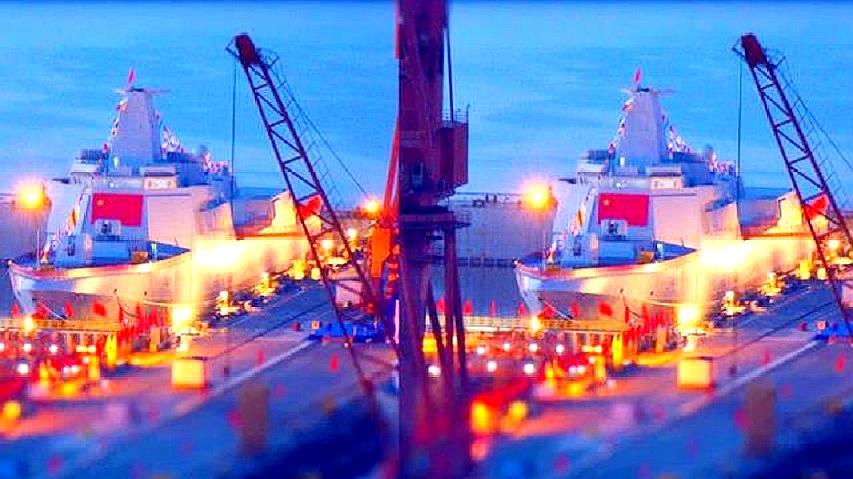 拉萨号055大驱亮相,隶属北海舰队,接下来,海军遭遇幸福的烦恼