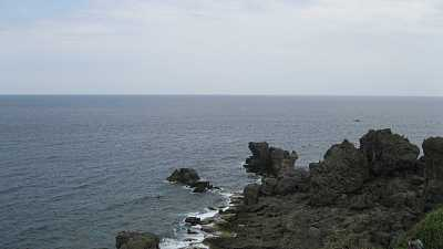 台湾莲花:海边的风景,这里的景色真的特别美,真的太