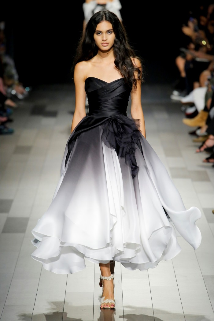 秀_时装秀:优雅造型展现时尚魅力,百变穿搭让模特精致不