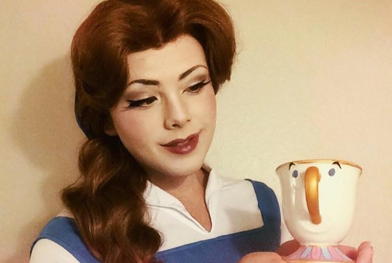 女装大佬cos迪士尼公主,安娜的美不逊于艾莎,爱丽儿还原度最高