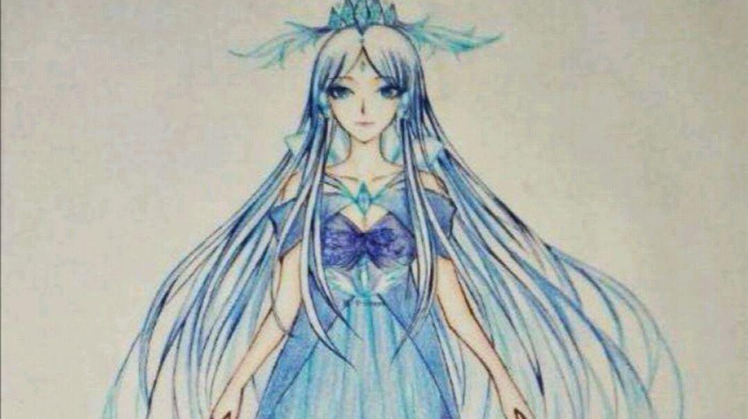 叶罗丽:来自粉丝笔下,5个版本的冰公主,素描惊艳,Q版可爱