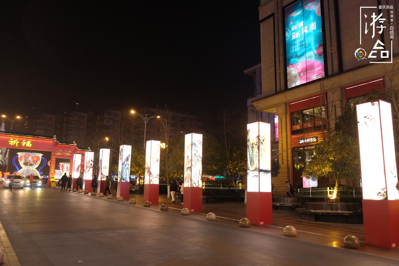欧式商业街灯柱