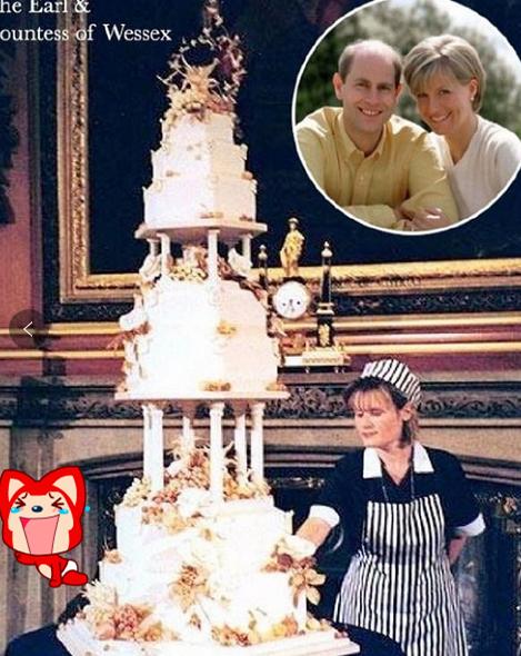 同样是新婚蛋糕,看完威廉和哈里的区别后,没有对比就没有伤害