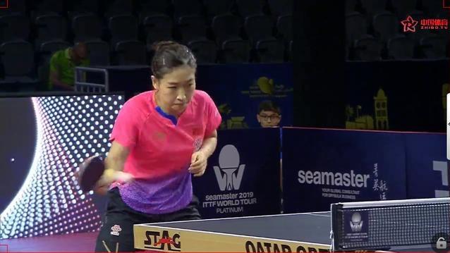 卡公赛 | 刘诗雯4-0完胜王艺迪 世乒赛女单四人包揽卡公四强