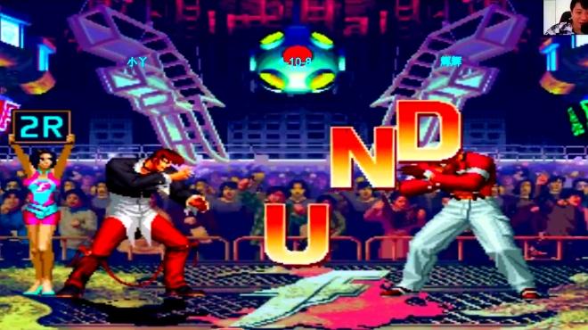 拳皇97 全国冠军想击败对手真的不容易 隐藏人物的威力就是强