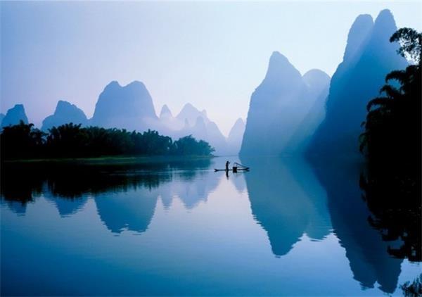 桂林山水甲天下,真美图片