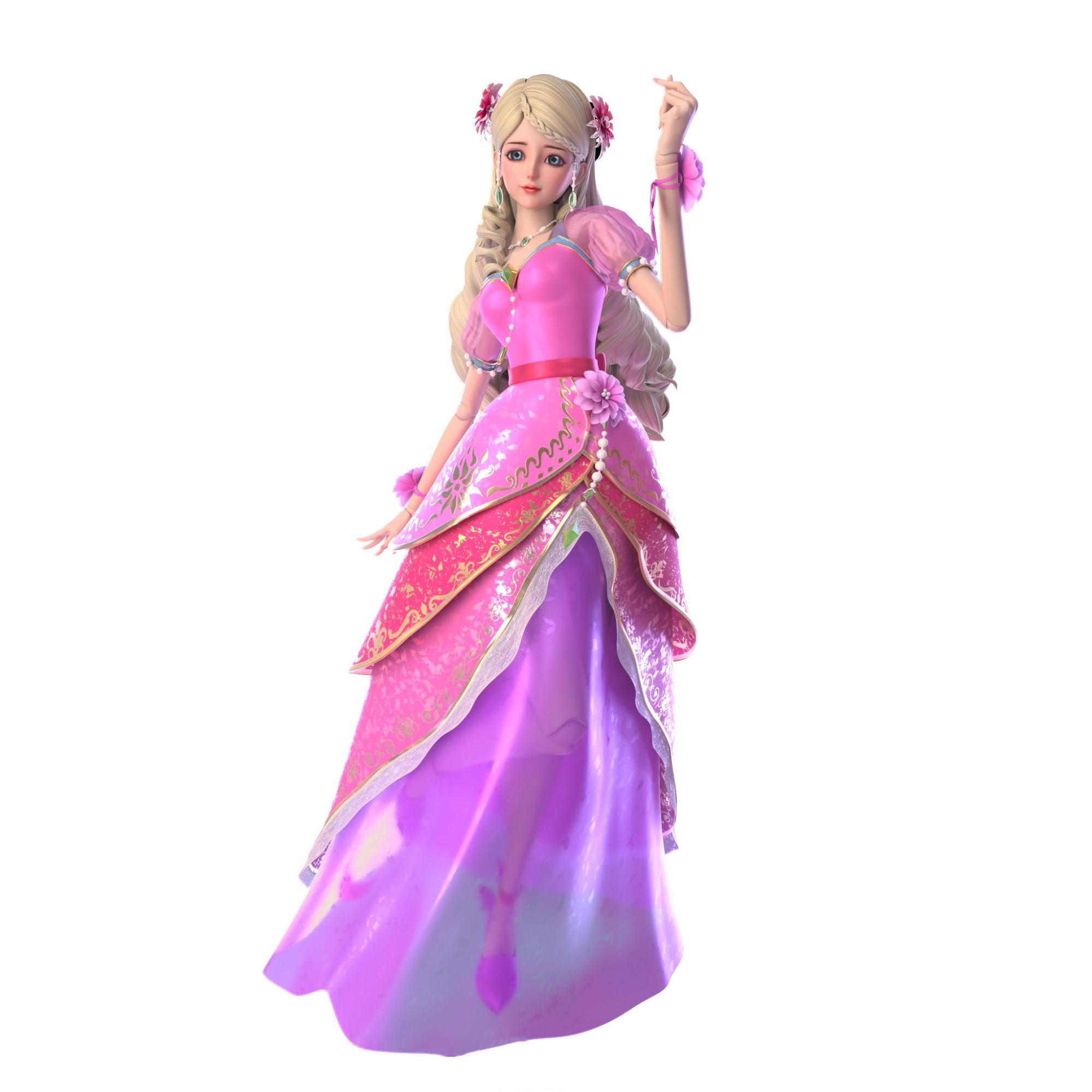 叶罗丽:仙子们的高清人物图,孔雀高贵铁希儒雅,冰公主图片