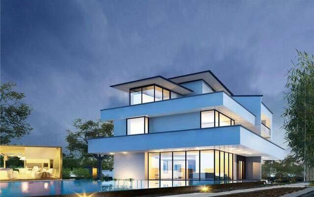 別墅設計:時尚別致的現代別墅,老家建房子這樣建,肯定