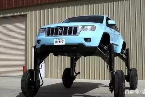 """美国发明""""升降""""汽车,汽车底盘可以自动升高,""""堵车""""都是浮云"""