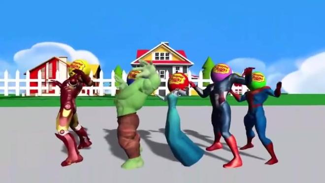 冰雪女王等戴着气球面具组团跳舞,隐身小丑看不下去,拿锤子砸掉