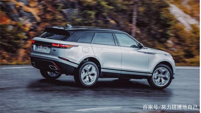 扩充,Range Rover Velar,增加