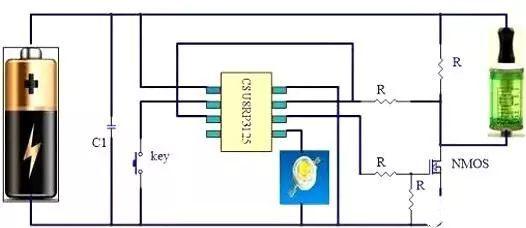 电子烟MOS管详解 以及工作原理