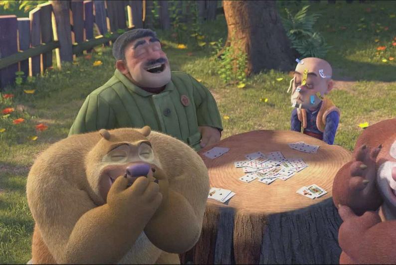 熊出没:光头强的好邻居是熊大、熊二?我们都忽略这一位了