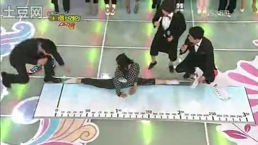 「Elle」110204 偶像脑力大挑战.柔韧性挑战.宋茜.narsha.victoria