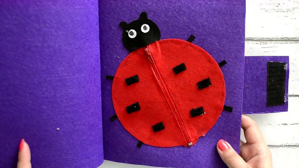 DIY,教你做个可爱的七星瓢虫,幼儿创意手工制作!