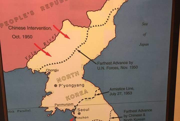 一张朝鲜战争的历史地图引起国外网友热议:中国是怎么赢的?
