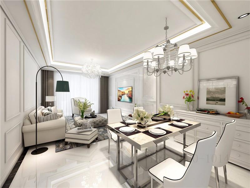 123平米的房子全包装修多少钱?现代风格三居室设计说明!-太奥广场装修